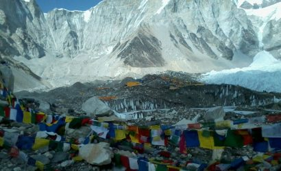 Budget trek to Everest base camp