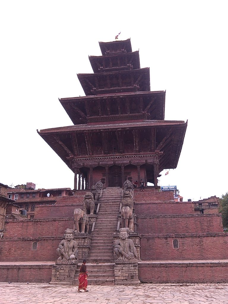 World heritage site in Bhaktapur