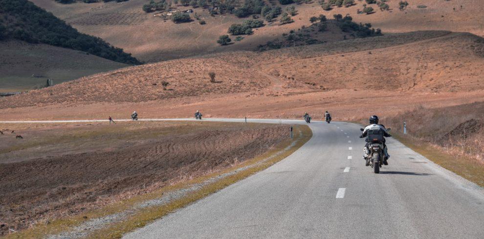 Motorbike tour to Mustang