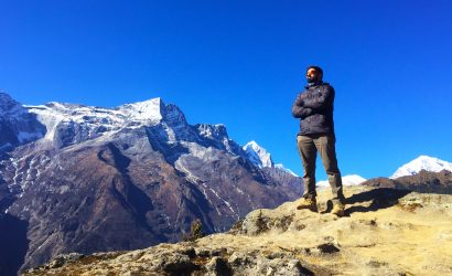 Fast trekking in Everest Base Camp
