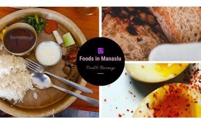 Food in the Manaslu Circuit