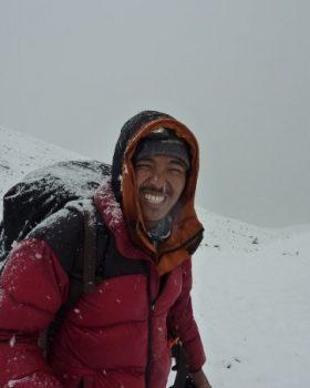 Climbing Guide in Nepal-Tenjing Sherpa